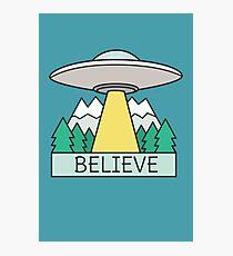 Cool UFO Sci Fi  Photographic Print