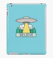 Cool UFO Sci Fi  iPad Case/Skin
