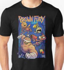 Brown Fury - Attack! Slim Fit T-Shirt