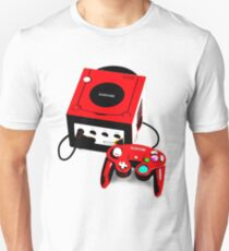 Red Game Cube Unisex T-Shirt