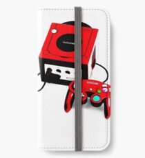 Red Game Cube iPhone Wallet/Case/Skin
