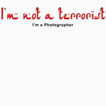 Not a Terrorist - Red by whoisalex