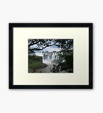 Iguasu Falls , Brazil Framed Print