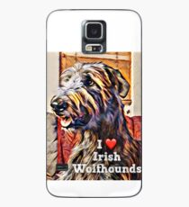 I love wolfhounds  Case/Skin for Samsung Galaxy