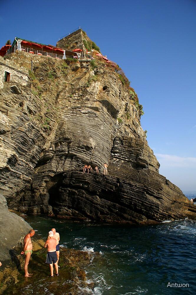 Cinque Terre Locals by Antwon