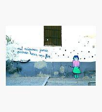 Spanish Street Art Photographic Print