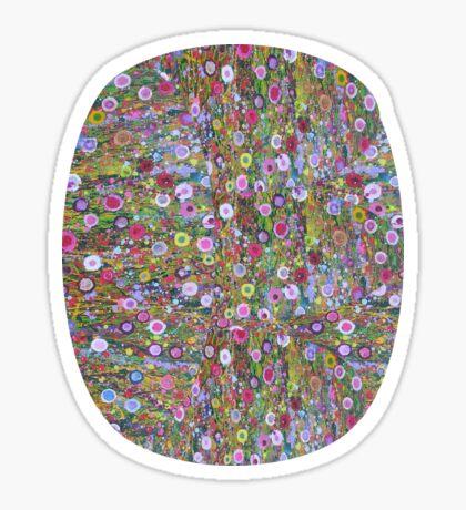 Psychedelic Pattern | Flower Frenzy II Sticker