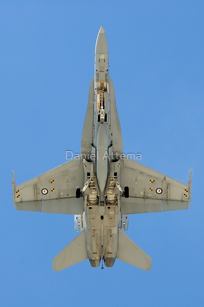 F/A-18 Hornet by Daniel Attema
