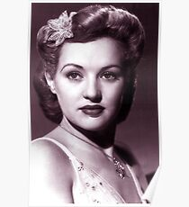Grable Betty vintage color Poster
