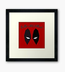 Anti Hero Goes Wild Framed Print