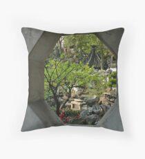 Yu Gardens, China Throw Pillow