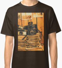 Vintage photography stack Classic T-Shirt