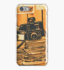 Vintage photography stack iPhone Case/Skin