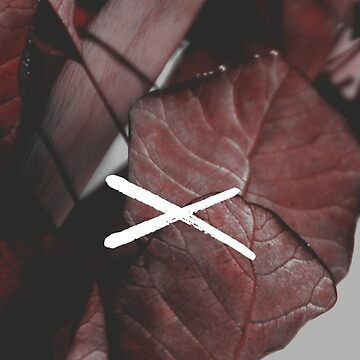 X Floral Background by kaespo