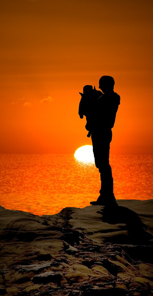Father and Son by Sarah Moore