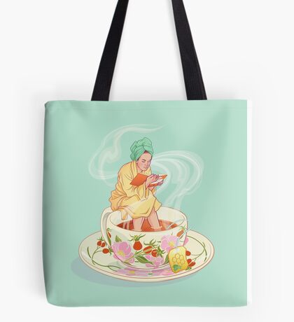 Cure for the common cold Tote Bag
