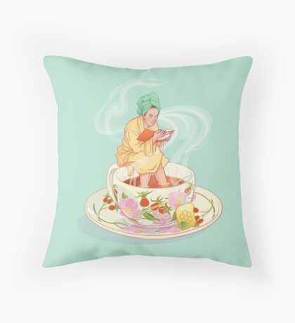 Cure for the common cold Throw Pillow