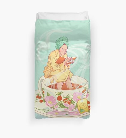 Cure for the common cold Duvet Cover