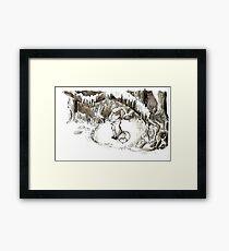 Fox Valentine Framed Print