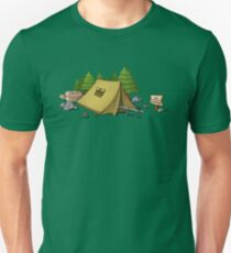 no camping Unisex T-Shirt