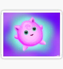 Jiggly Puff! Sticker