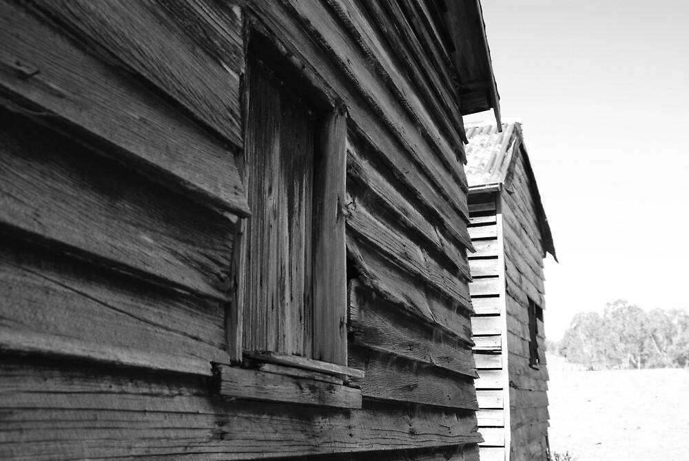 Abandoned farm house by Jesss
