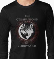 The Companions of Jorrvaskr Long Sleeve T-Shirt