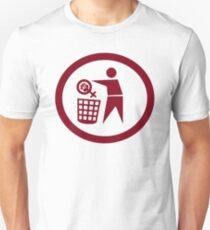 Put feminism where it belongs Unisex T-Shirt