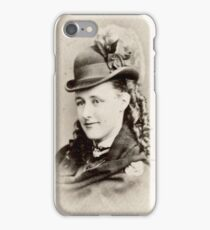 Edwardian Lady Visiting Card iPhone Case/Skin