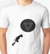 Rocket League t-shirt Black out Gear Unisex T-Shirt