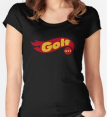 Golf GTI hot wheels Women's Fitted Scoop T-Shirt
