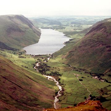 Wastwater from Great Gable by GHewstone
