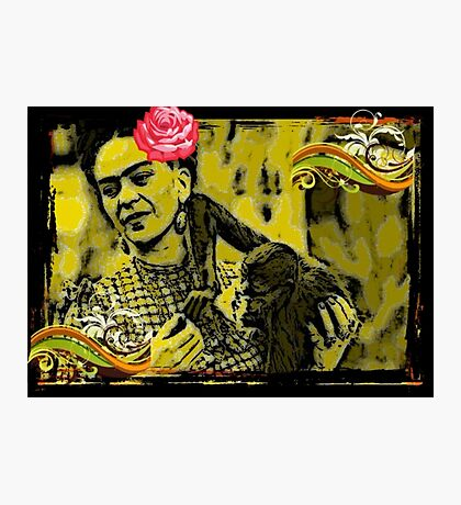 Funky Frida! Photographic Print