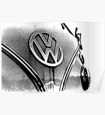 Volkswagen Camper Van Poster