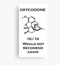 Oxycodone Canvas Print