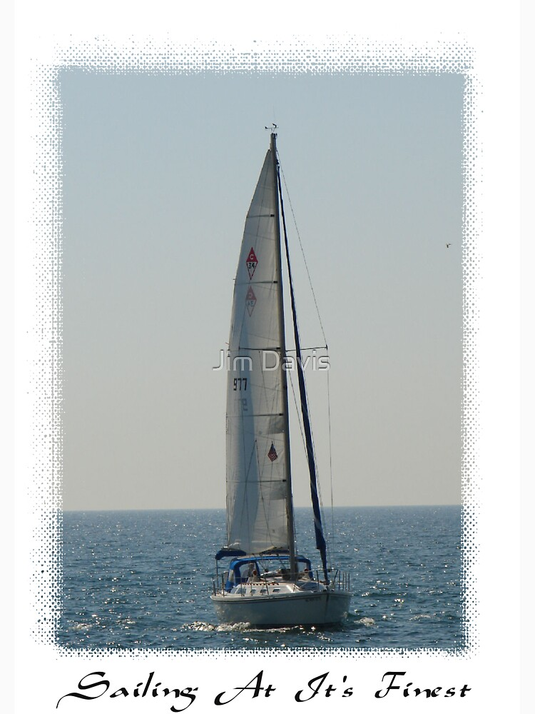 Sailing at it's Finest by JimmyD