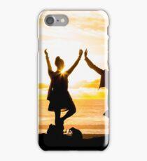 Sunset Yoga iPhone Case/Skin