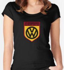 Fahrvergnugen (blk) Women's Fitted Scoop T-Shirt
