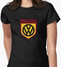 Fahrvergnugen (blk) Women's Fitted T-Shirt