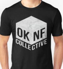 OKNF (Weißer Marmor) Slim Fit T-Shirt