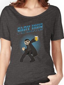 Gary King vs The World's End - Blue Women's Relaxed Fit T-Shirt