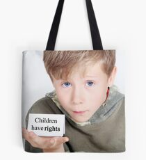 children have rights Tote Bag
