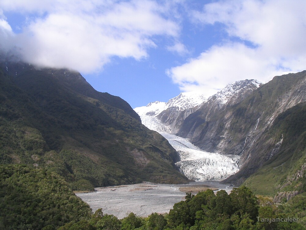 Franz Josef Glacier, New Zealand by Tanyamcaleer
