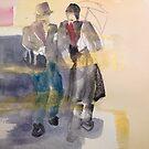 A walk in November by Catrin Stahl-Szarka