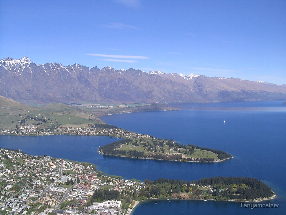 Queenstown, New Zealand by Tanyamcaleer