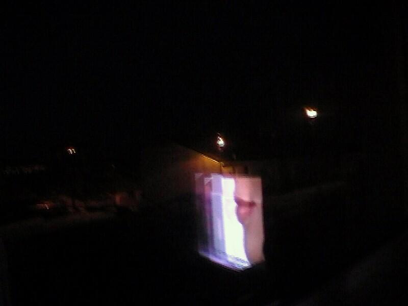 Screen Reflection 2 by manwithxrayspecs