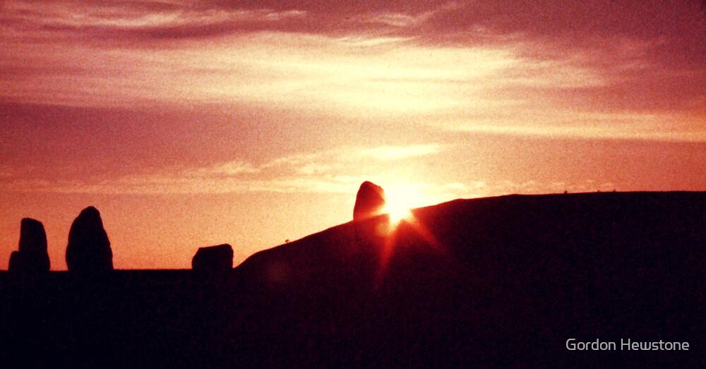 Castlerigg Sunset by Gordon Hewstone