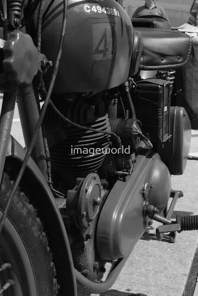 Eastern European Motorcycle by imageworld