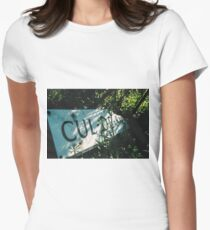 Decadentley, Dilapidated and Culled Women's Fitted T-Shirt
