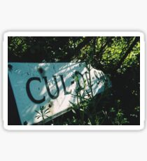 Decadentley, Dilapidated and Culled Sticker